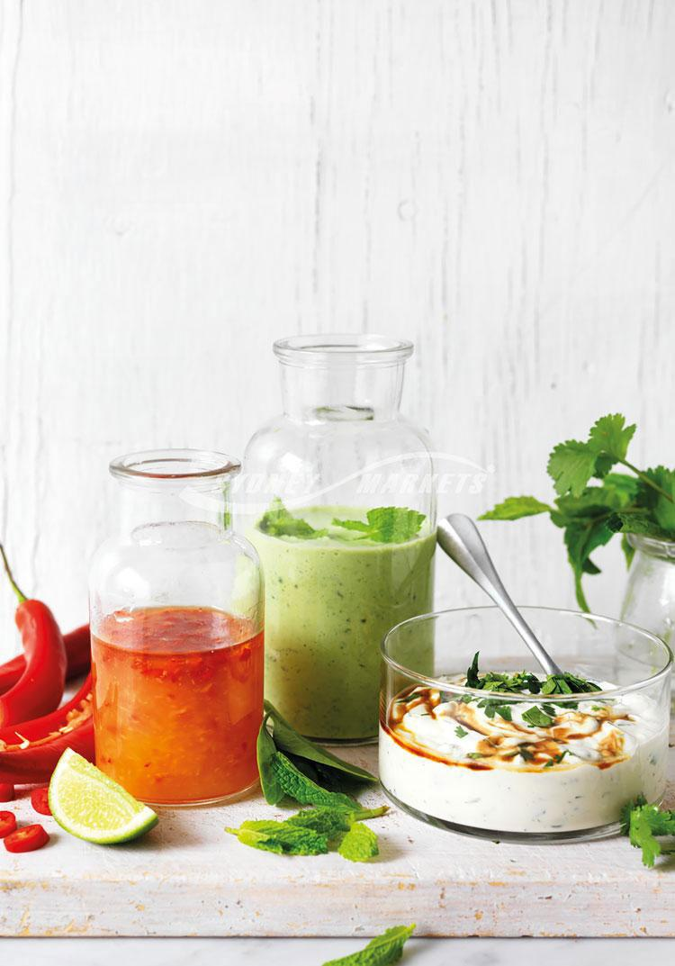 3 of the best... Super Salad Dressings