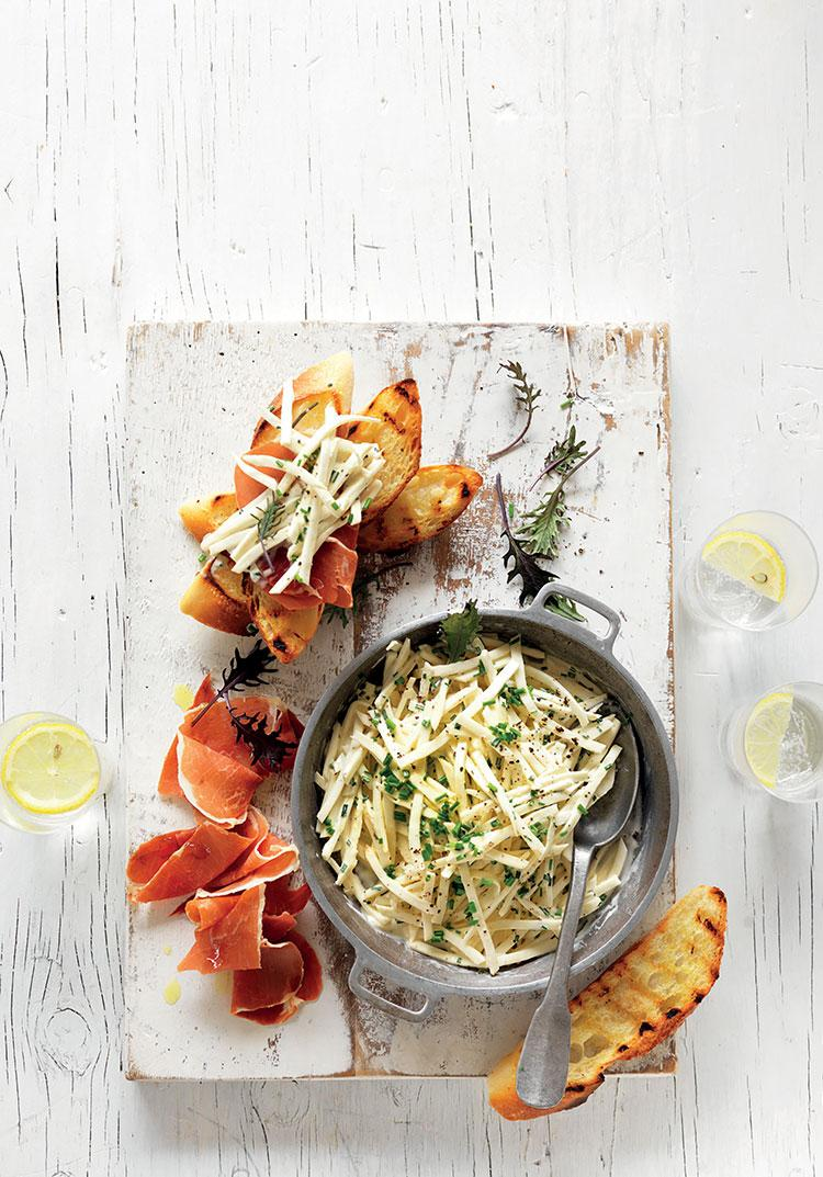 Celeriac remoulade & ways to serve it