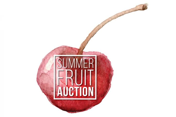2015 Summer Fruit Auction Media Alert