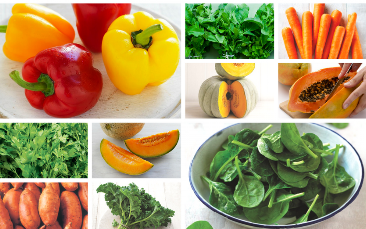 Foods with vitamin a