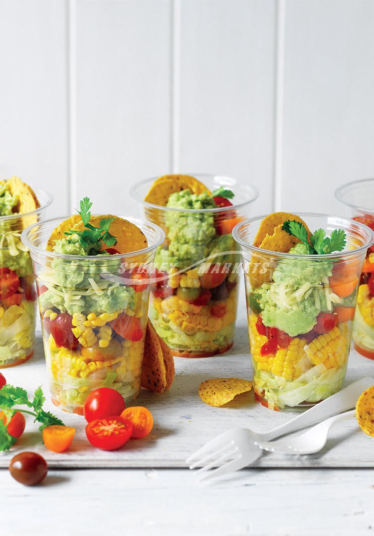Sydney markets recipes avocado sweetcorn tomato salsa salad cups forumfinder Choice Image