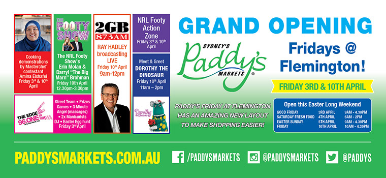 Paddy's Market @ Flemington Grand Opening