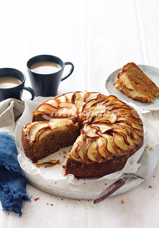Sydney Markets - Carrot, pear & pecan cake