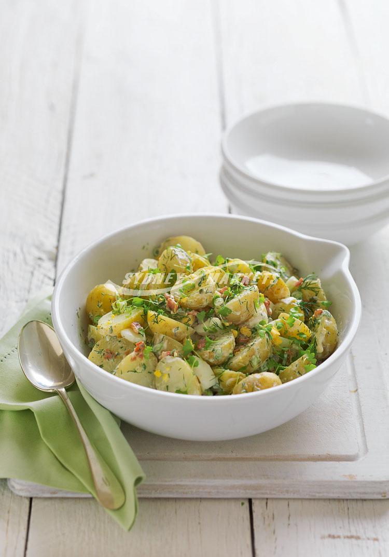 Sydney Markets - Potato, dill, bacon & egg salad