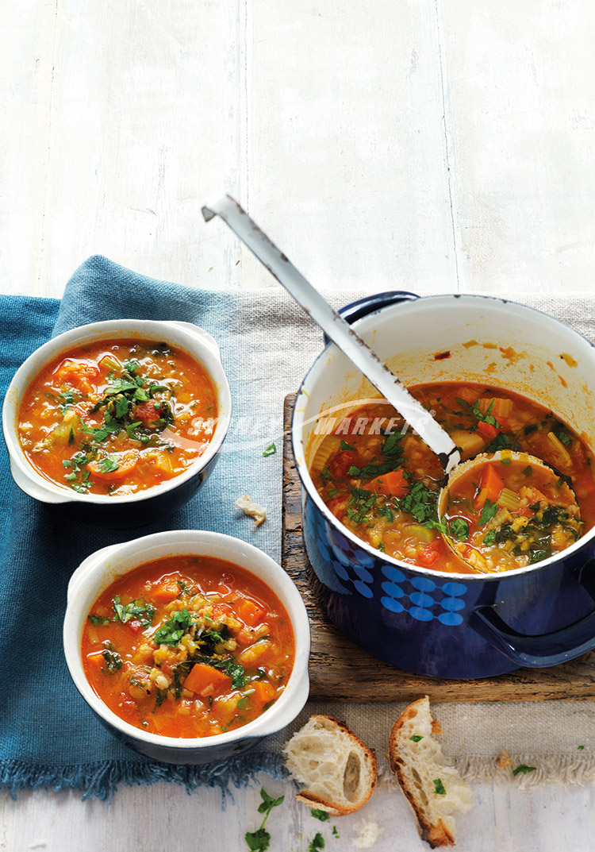 Sydney Markets Vegetable Amp Pearl Barley Soup